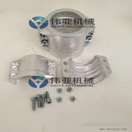 DIN2817标准【安全管夹】,安全管夹安装尺寸