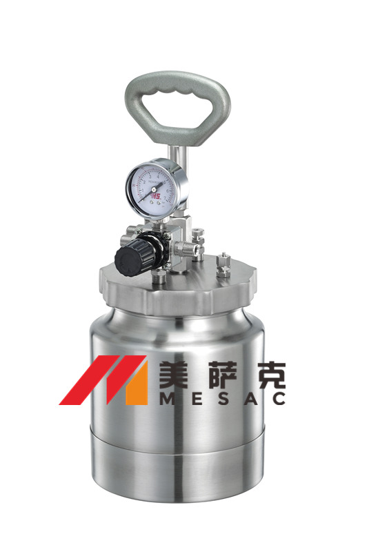 3升压力罐 3升气动油漆压力桶 3升不锈钢气动油漆压力桶