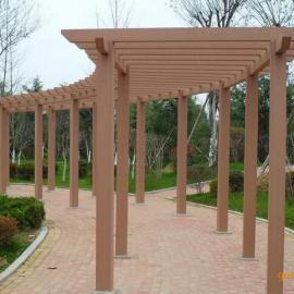 绍兴塑木花架、绍兴塑木廊架