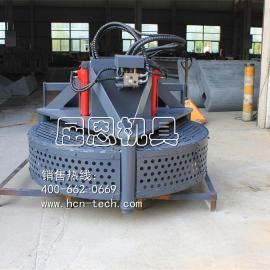 装载机井盖铣刨器,BM14井盖铣刨机,HCN屈恩机具小型铣刨机