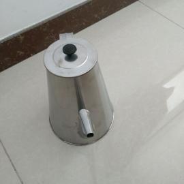 供应二级不锈钢过滤小油壶/150×75×200