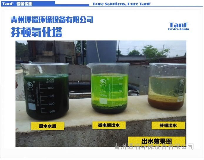谭福环保 芬顿反应器 芬顿高级氧化