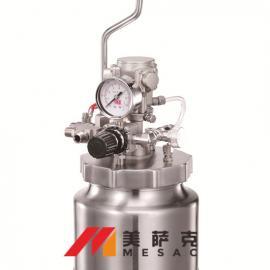3升搅拌压力桶 3升气动搅拌压力桶 不锈钢气动搅拌压力桶