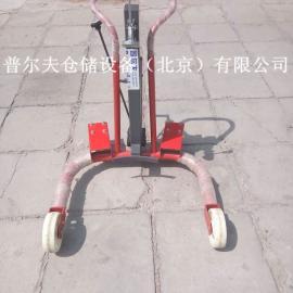 北京可倾式油桶搬运车/手动油桶搬运车/油桶叉车