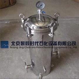北京品牌 S30408卡箍式精密过滤器 法兰式袋式过滤器
