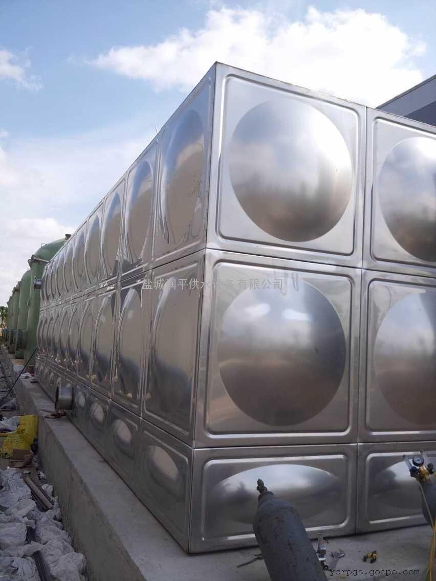 供应焊接式不锈钢消防、生活饮用水水箱 润平质优价优