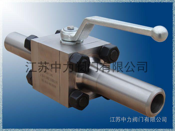 产品展示 球阀/高压球阀 高压焊接球阀 > 不锈钢对焊高压球阀图片