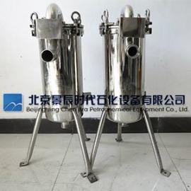 厂家直销不锈钢微孔膜过滤器 单芯10英寸饮用水精密过滤器