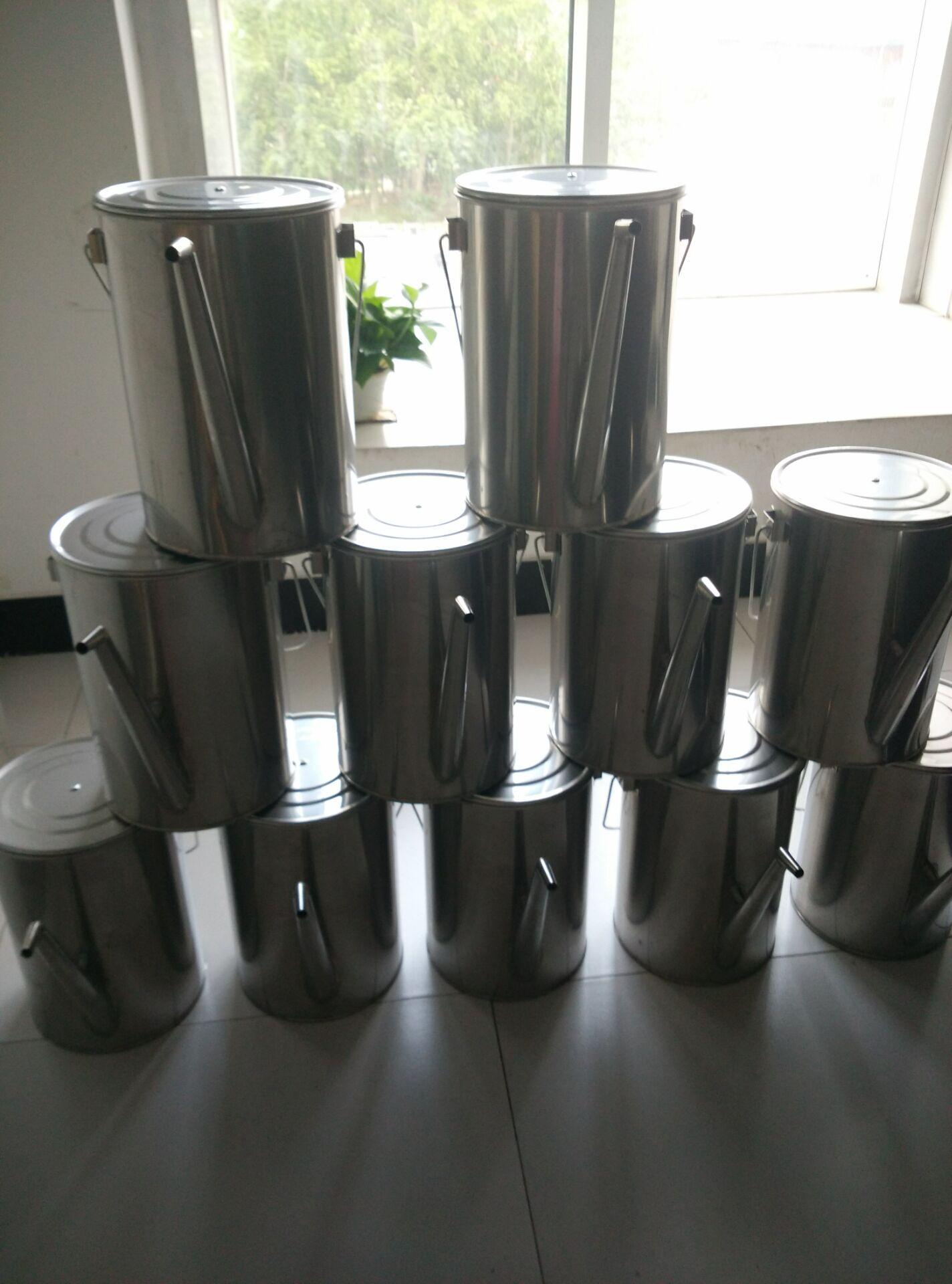 不锈钢过滤大油壶200*300mm(10升)厂家现货处理