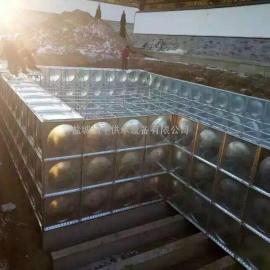 抗浮式BDF大型地埋式箱泵一体水箱