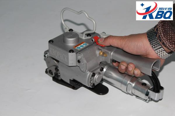 松岗出售气动打包机 KBQ-19气动摩擦打包机
