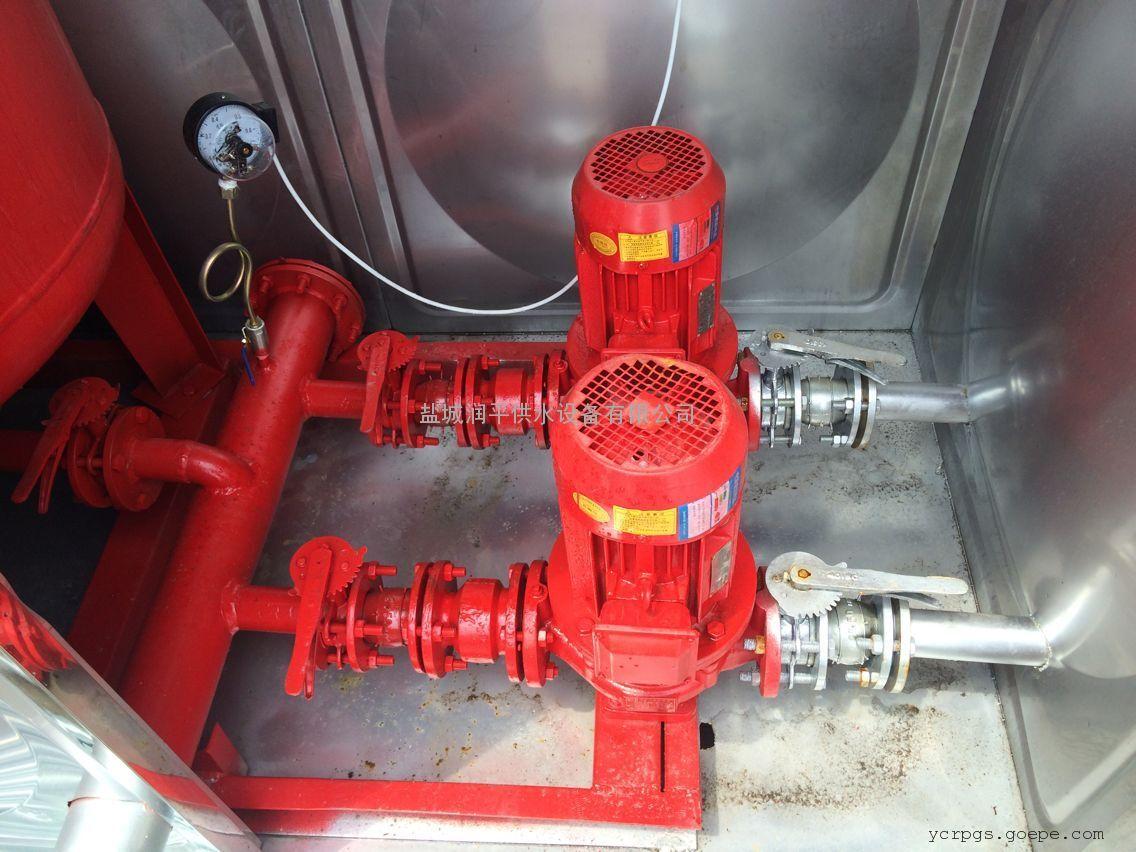 供应淮安不锈钢箱泵一体化水箱给水设备,润平厂家直销