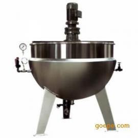 长宏立式带搅拌夹层锅
