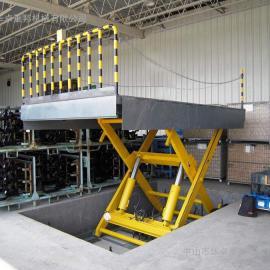 固定式升降机 固定剪叉式升降货梯 清远液压升降平台 推荐!