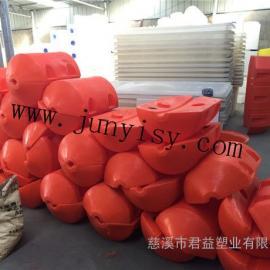 金华河道拦污塑料浮体 瑞安直径500*750拦污浮体