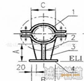 J4H型管托(焊接型)