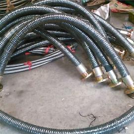 大口径织吸泥胶管,挖泥船排(吸)泥沙用,通过优质棉线编织胶管