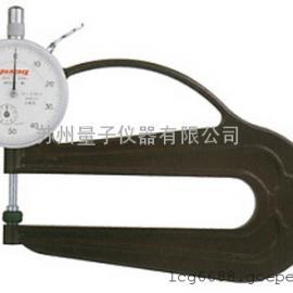 日本孔雀PEACOCK 针盘式厚度计 H-2.4N,厚薄表