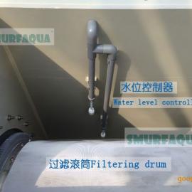 工厂化水产养殖设备 自动反冲洗滚桶微滤机