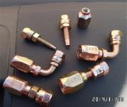 厂家直销胶管接头,设备连接接头齐全可来图来样定制加工