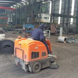 机械加工车间用艾隆驾驶式无尘扫地机,电动吸尘清扫车