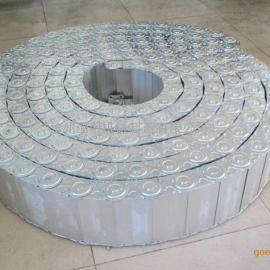 铝合金钢制拖链经久耐用 钢制拖链维修就找沧州亚明机械