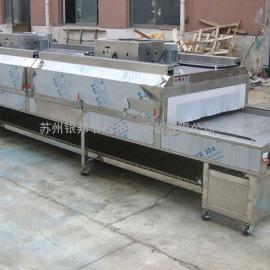全不锈钢隧道式烤箱,隧道式烘烤炉,电热隧道炉,流水线烤箱