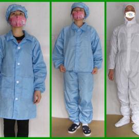 厂家批发防静电连体服 实验室连体服 无尘车间防静电服