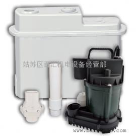 供应地下室厨房全自动污水提升器泵 生活污水处理设备 美国