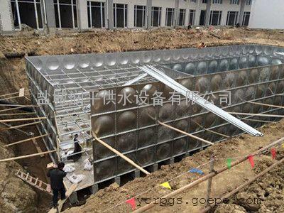 扬州BDF地埋式箱泵一体化水箱,润平厂家定制包验收