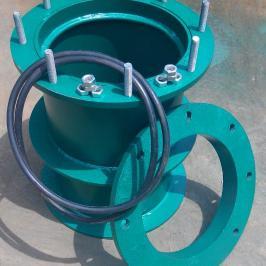 两侧防护防水套管/裕洋密闭刚性防水套管