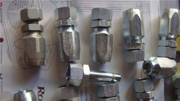 生产精装jic接头,可拆式接头液压管件厂家直销螺纹图片
