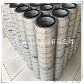 南京厂家供应320*660纸质工业过滤器滤芯 除尘滤筒