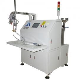 杭州倒车雷达灌胶机,信华XH-600自动清洗,灌胶更简单