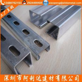 热浸锌C型钢 光伏支架