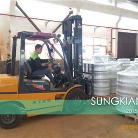 DN125耐酸碱橡胶挠性接管价格316L法兰挠性接头批发商