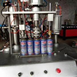 泡沫填缝剂灌装设备小型作坊式