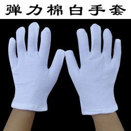 纯棉作业 白色儿童手套 跳舞表演手套批发销售儿童手套