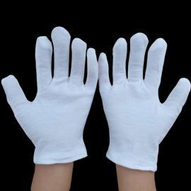 幼儿白手套 六一儿童节目表演手套白色透气长期供应