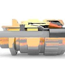 英国HAWKE铠装电缆接头,金属电缆防水接头霍克产品外观