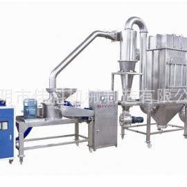 现货供应 中药材高效吸尘磨粉机 五谷杂粮超微粉碎机