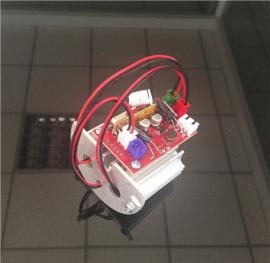供应草坪激光灯光源器配件 静态双孔 带无线遥控