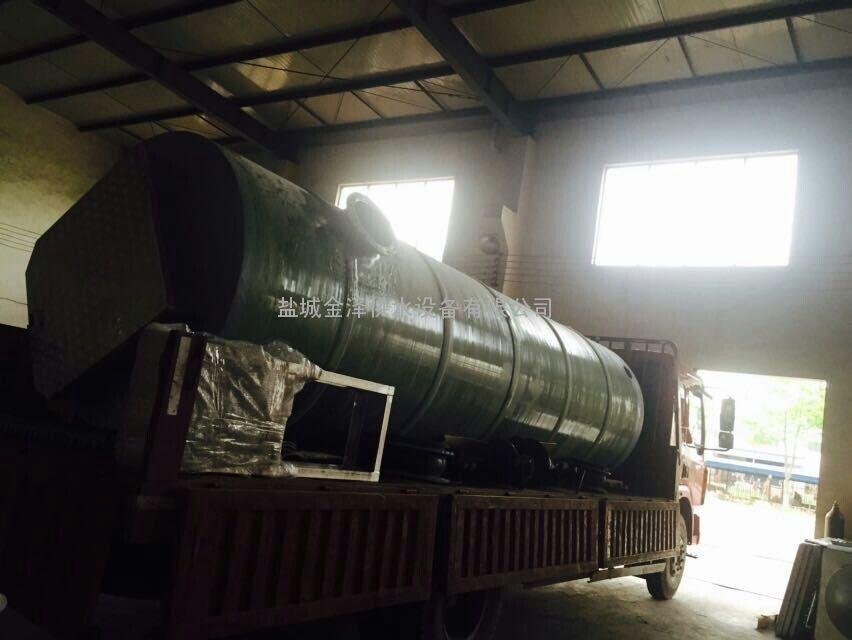 同安一体化污水提升泵站