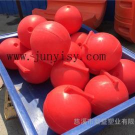 海南直径30公分警示区域划分浮球 40公分警示区域浮球
