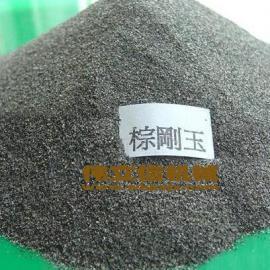 供应孝感喷砂专用棕刚玉砂料