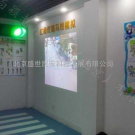 红绿灯过斑马线体验北京盛世民安供应商交通安全设备