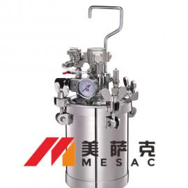 2升气动搅拌压力罐 2升气动搅拌压力桶 自动搅拌压力桶