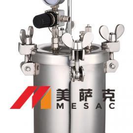 2升自动搅拌压力桶 2升自动搅拌压力罐 不锈钢气动压力罐