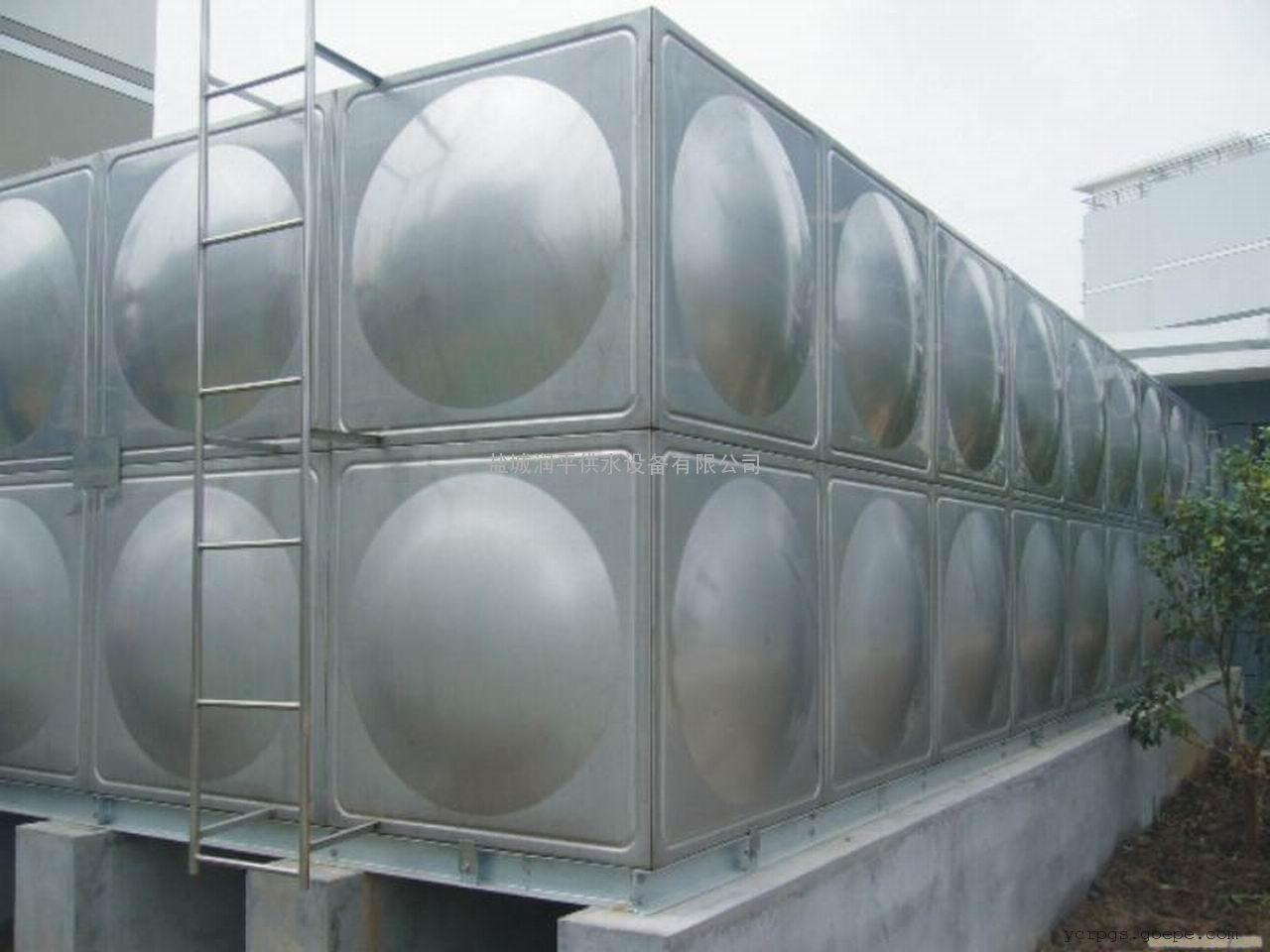 供应不锈钢304生活水箱,润平厂家直销!