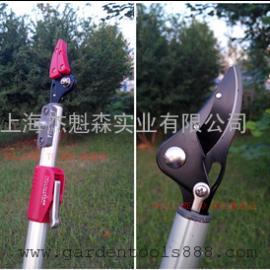 日本伸缩3米高枝剪高空 锯 摘果 摘果剪 荔枝柿子龙眼修枝园